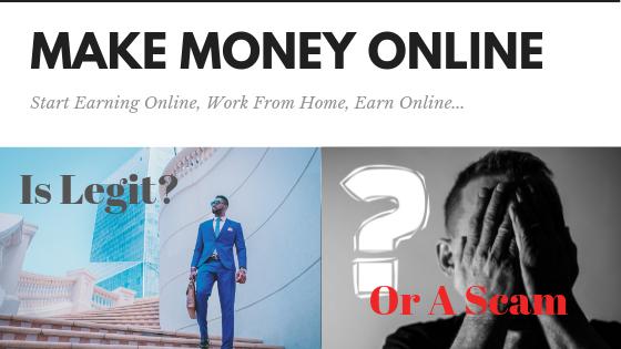 Make Money Online For Real