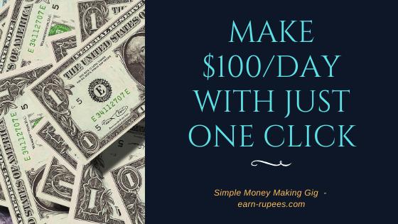 Make $100/day