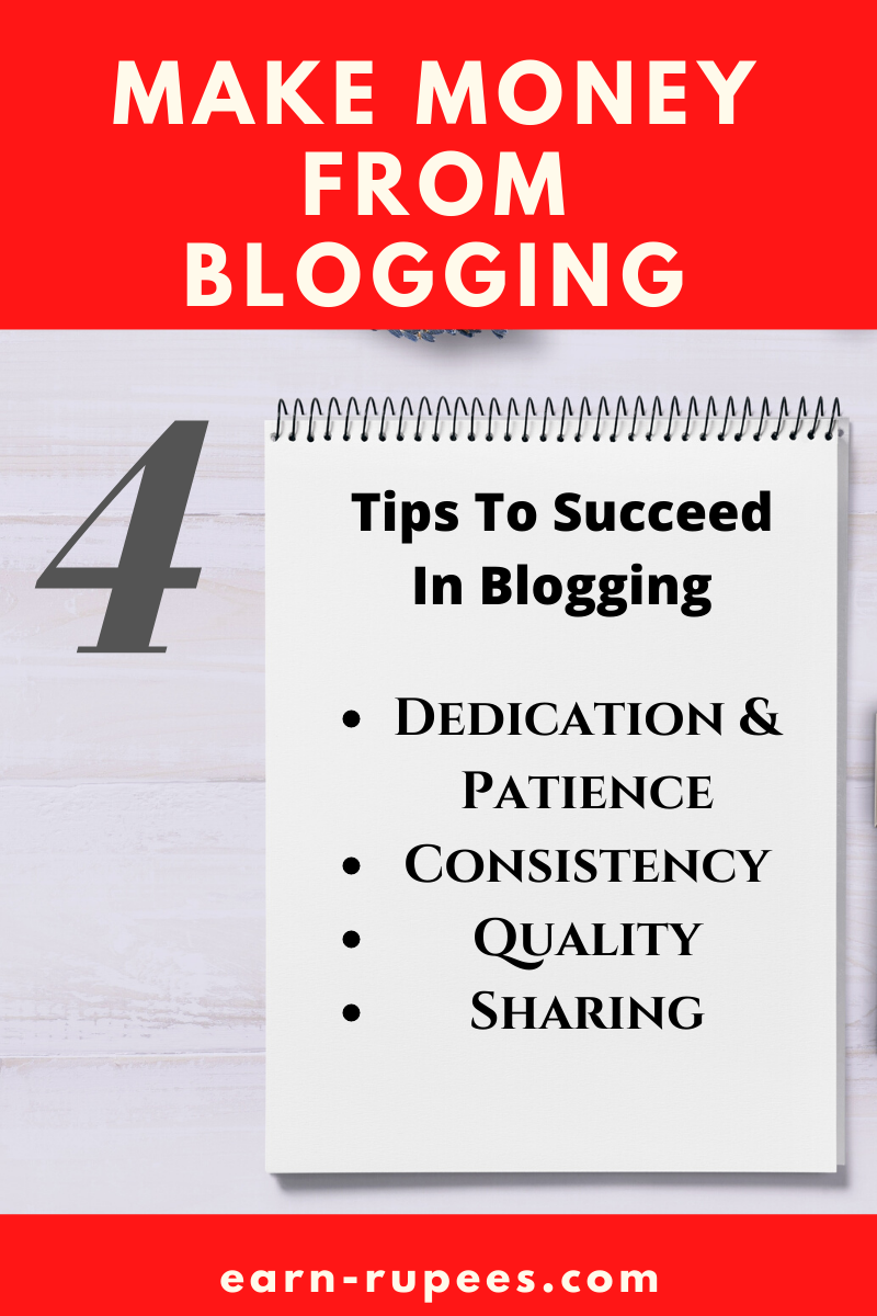 Tips to succeed in blogging