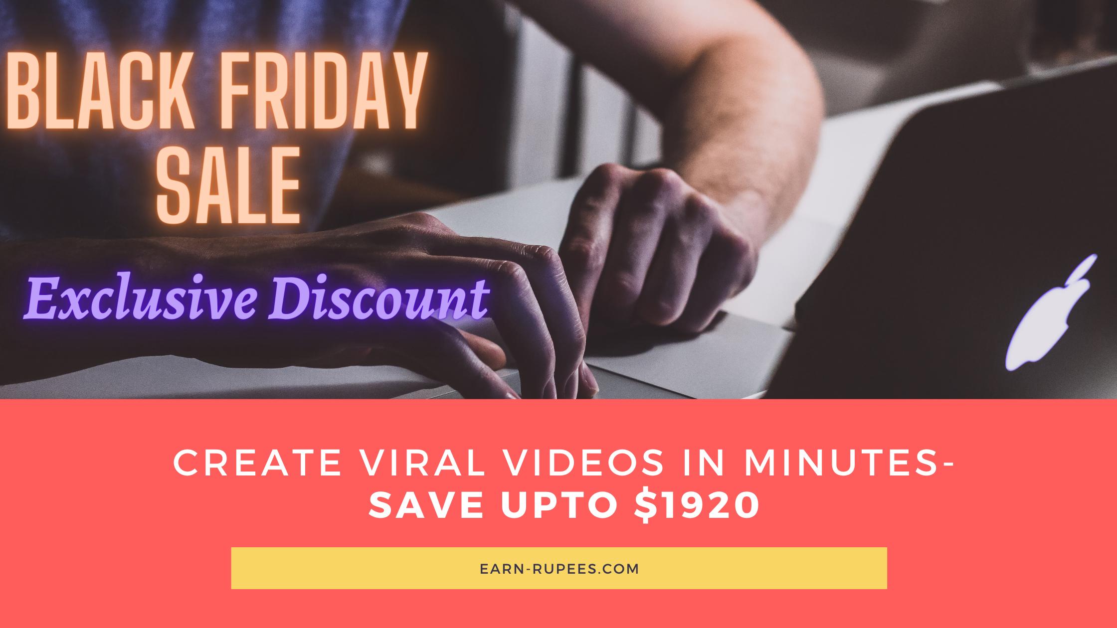 Black Friday Deals Vidnami discounts
