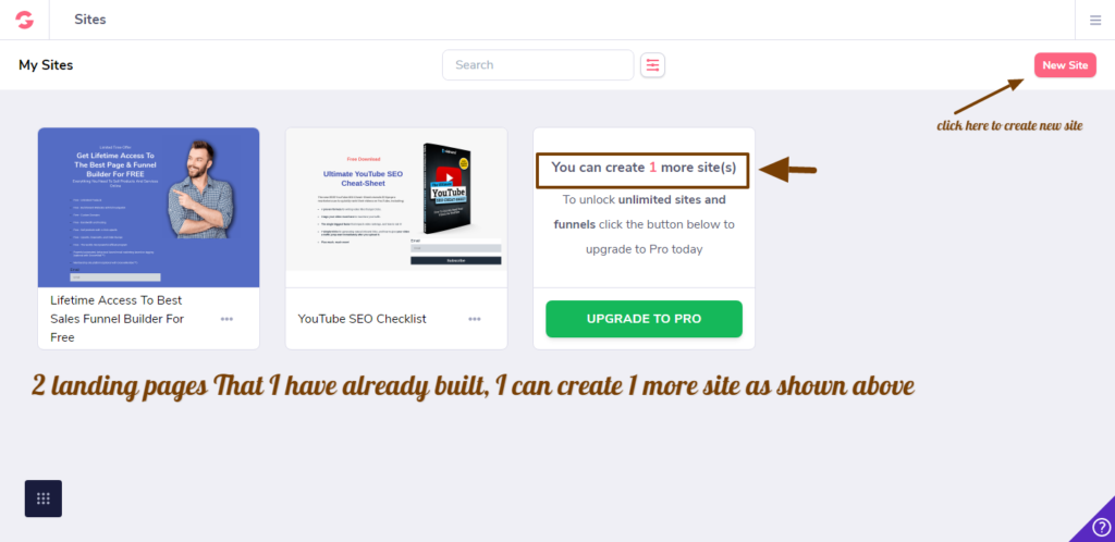 How to create landing pages with Groove Funnels