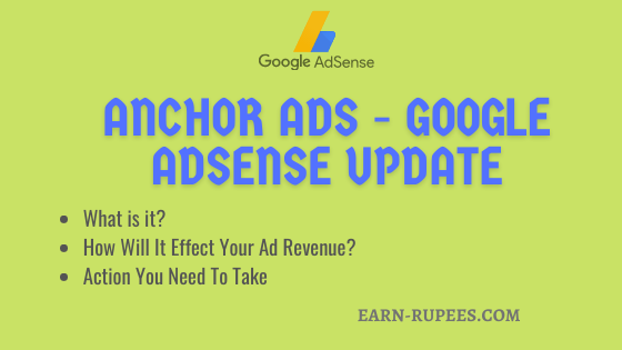 Anchor Ads Updae - Google Adsense