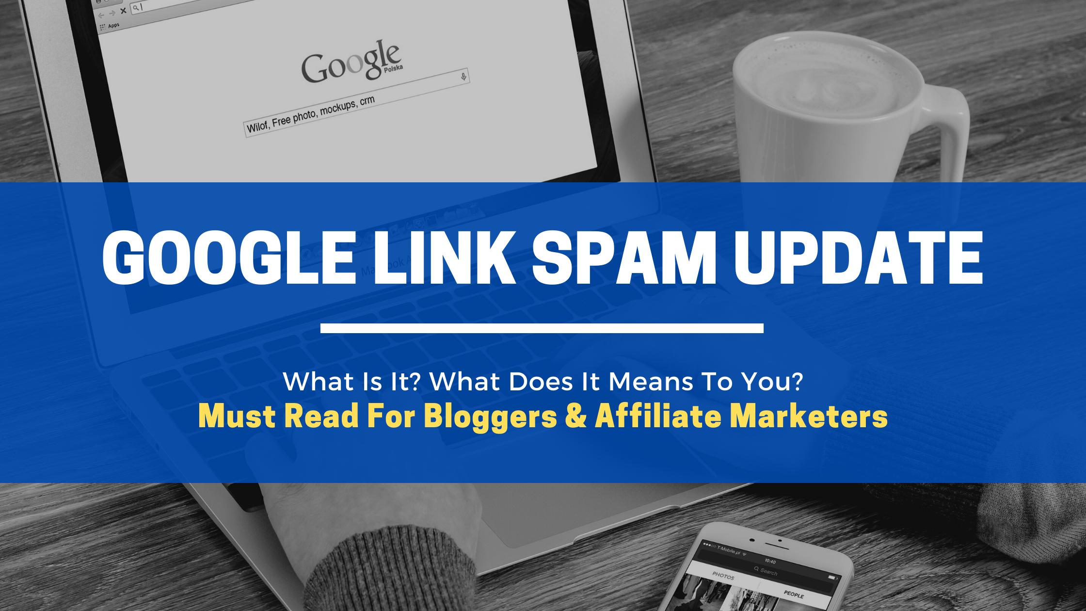 Google Link Spam Update