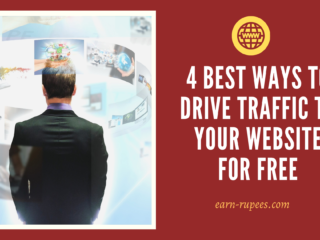 get traffic to your website for free